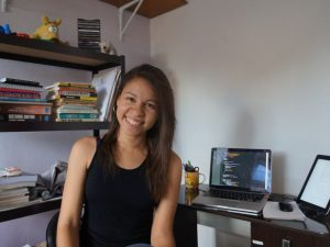 Déborah Mesquita, 25, está concluindo o curso de Ciência da Computação (Foto: Arquivo Pessoal)