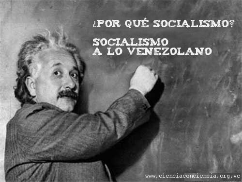 Albert Einsten Socialista