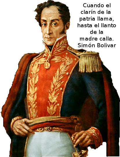 Conmemoración de la muerte del Libertador Simón Bolívar