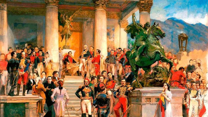 Pinturas celebres de Arturo Michelena