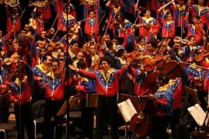 Orquesta sinfónica Simón Bolívar