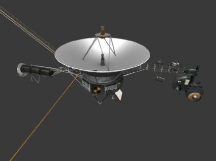 voyager NASA 3D