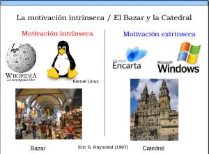 motivación intrínseca: Comunidad de Software Libre