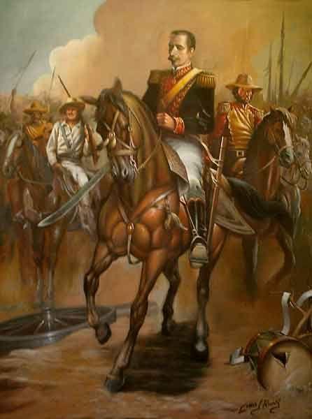 Ezequiel Zamora Batalla de Santa Ines