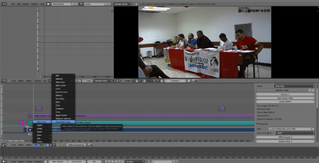 Blender y Edición de Vídeos (VSE)