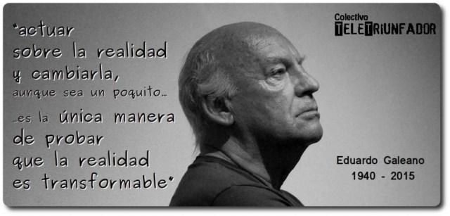 Homenaje a Galeano