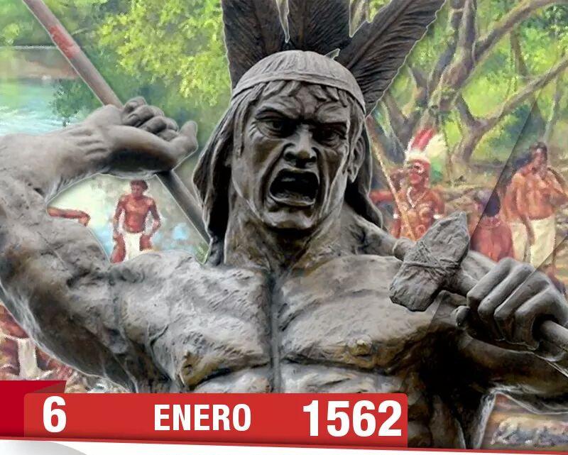 El 6 de enero de 1562 se logra la victoria de los Caciques Guaicaipuro y Terepaima
