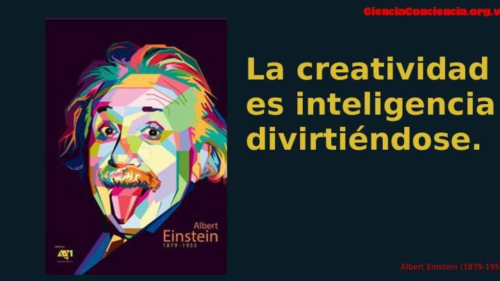 Frases sobre la creatividad de Albert Einstein