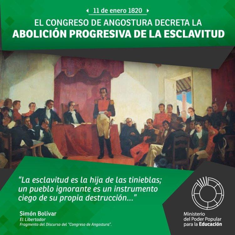 Texto completo del discurso de Simón Bolivar en el Congreso de Angostura