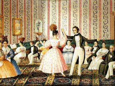 La noche que bailaron El Libertador Simón Bolívar y el General José Laurencio Silva