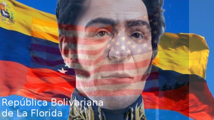La República Bolivariana de La Florida independizada por Simón Bolívar
