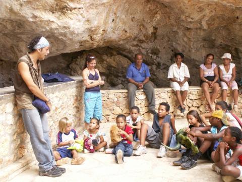 ciencia de cuba_ciencia cubana_Reserva Ecológica Siboney-Juticí_proyectos educativos medio ambientales del Centro Oriental de Ecosistemas y Biodiversidad BIOECO_Santiago de Cuba_4