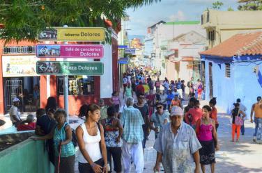 enramada_calle_santiago de cuba