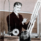 Nikola Tesla Comic