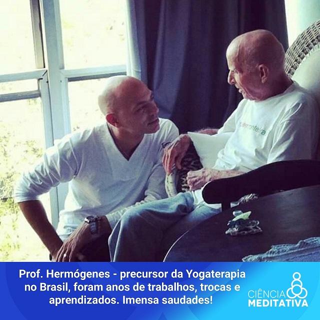 Vitor Hermogenes Ciencia Meditativa 2 - Cada vez mais médicos indicam Yogaterapia