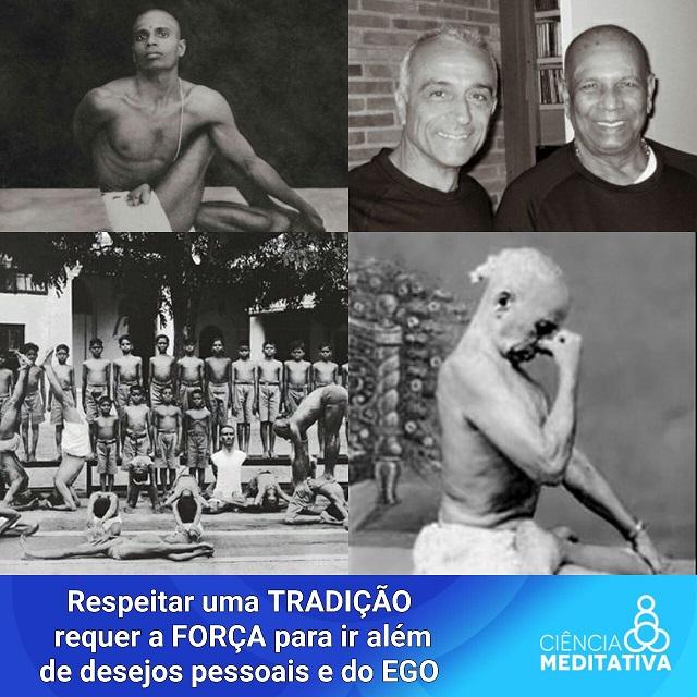 tradicao 1 - Espetacular desrespeito à Tradição do Ashtanga Yoga