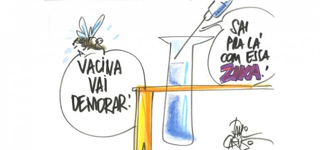 Charge sobre a demora da vacina