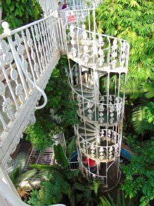 Wejście na balkon