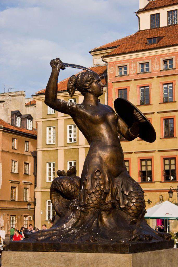 Syrenka Warszawska: Rynek Starego Miasta