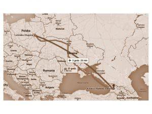 Kutaisi - mapa
