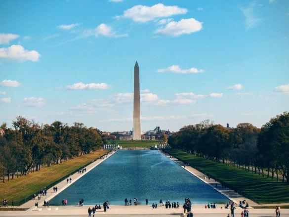 Pomnik Waszyngtona oczami Lincolna...