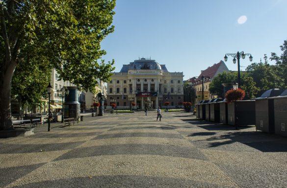 Zwiedzanie Bratysławy rozpoczęliśmy przy Operze