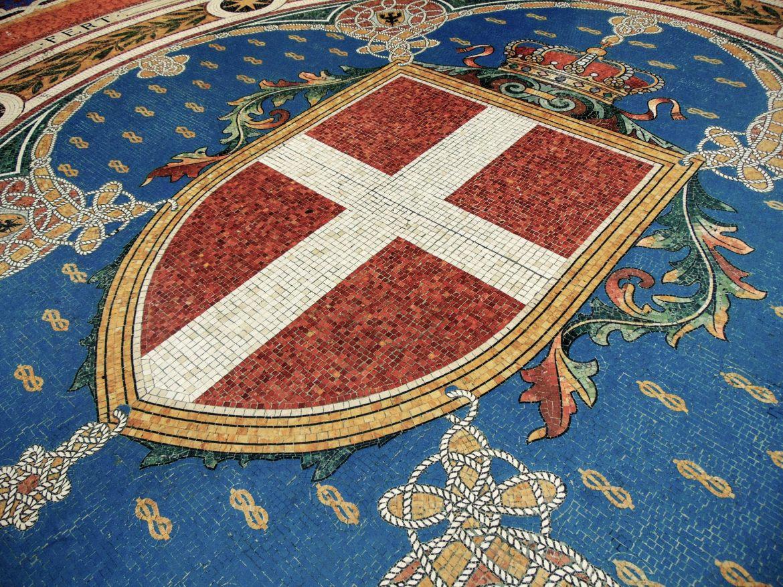 Mozaika - herb Turynu