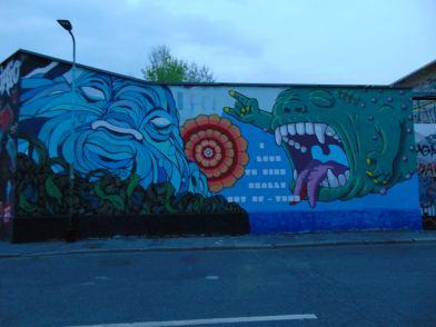 Leoncavallo - street art
