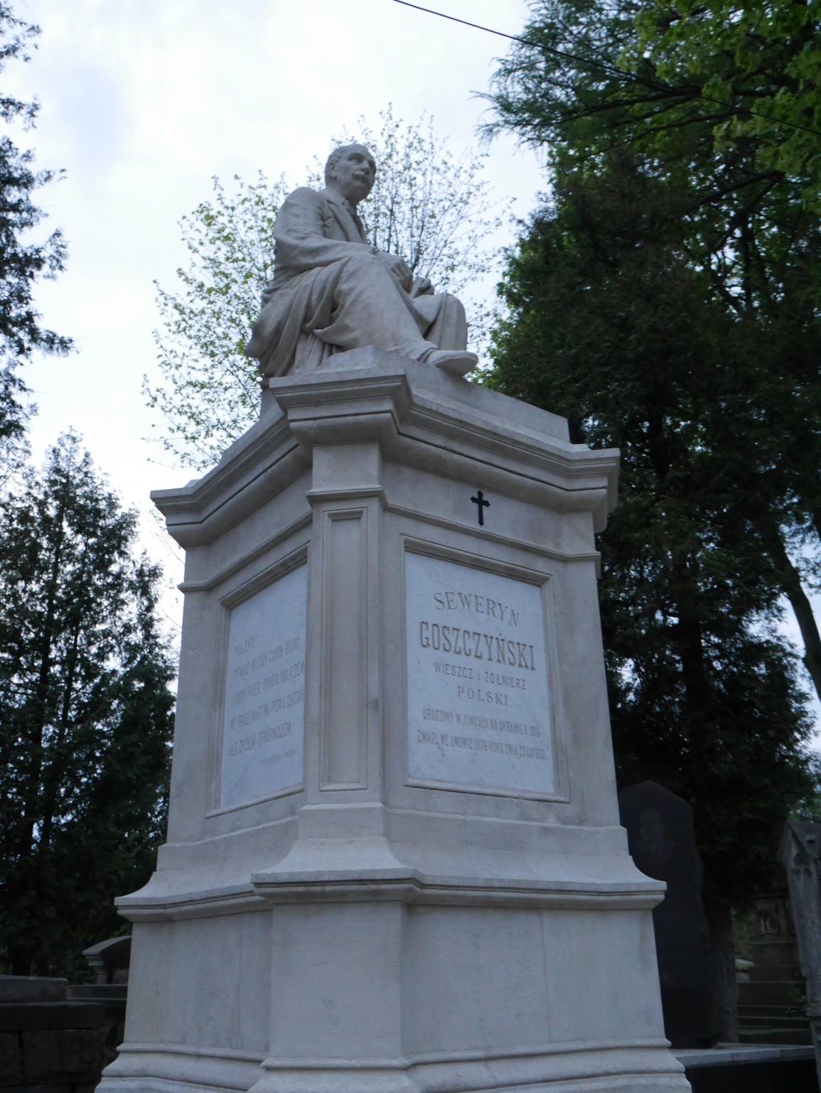 Seweryn Goszczyński i pomnik poety