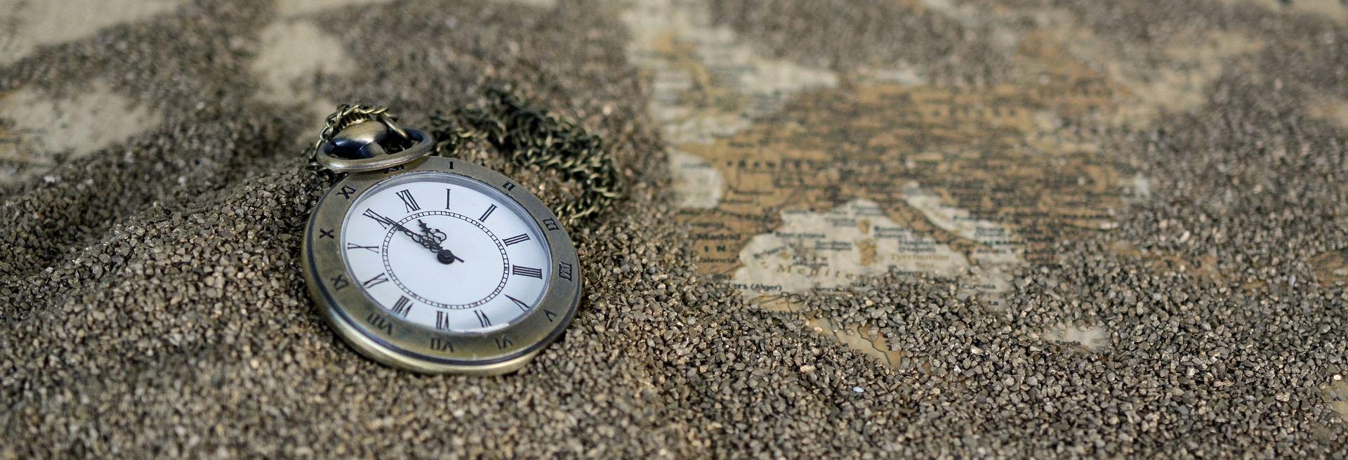 nostalgia zegar przemyślenia