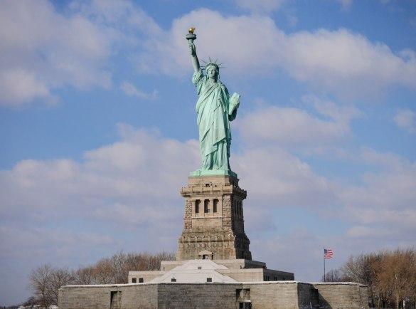 Statua Wolności w całej okazałości