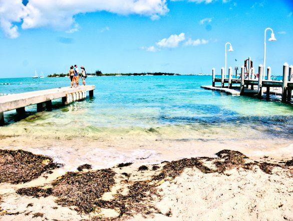 Plaża w Key West, Floryda