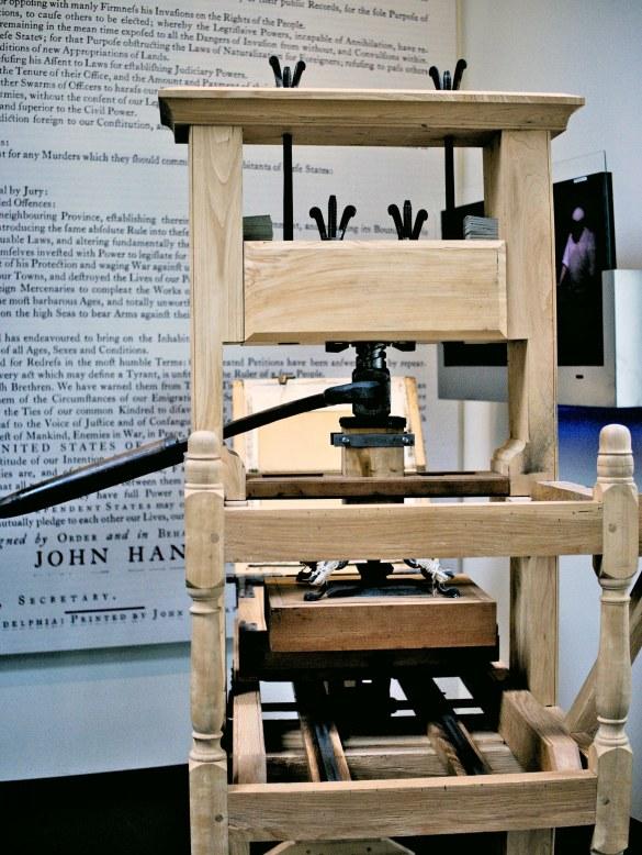 Pierwsza drukarka.