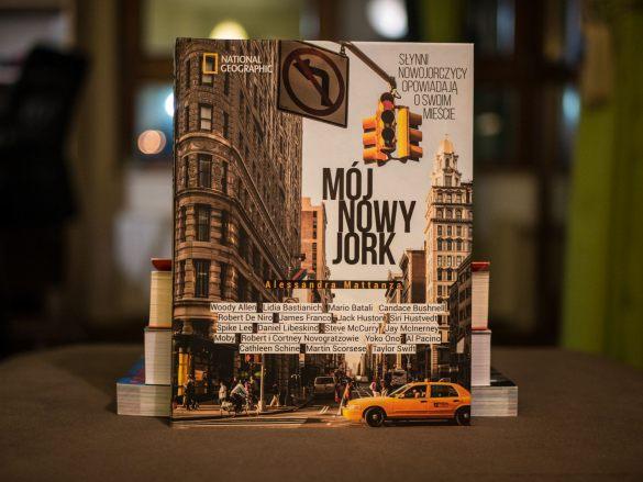 Mój Nowy Jork - okładka