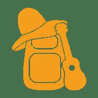 Logo (sygnet) - Cieplik podróżuje