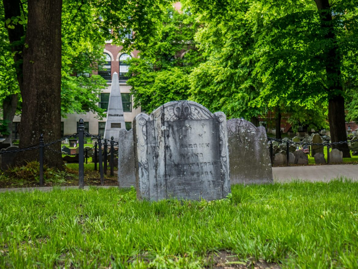 Granary Burying Ground z 1660