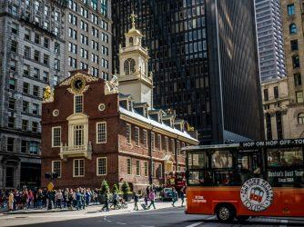 Old State House wybudowany w 1713 roku