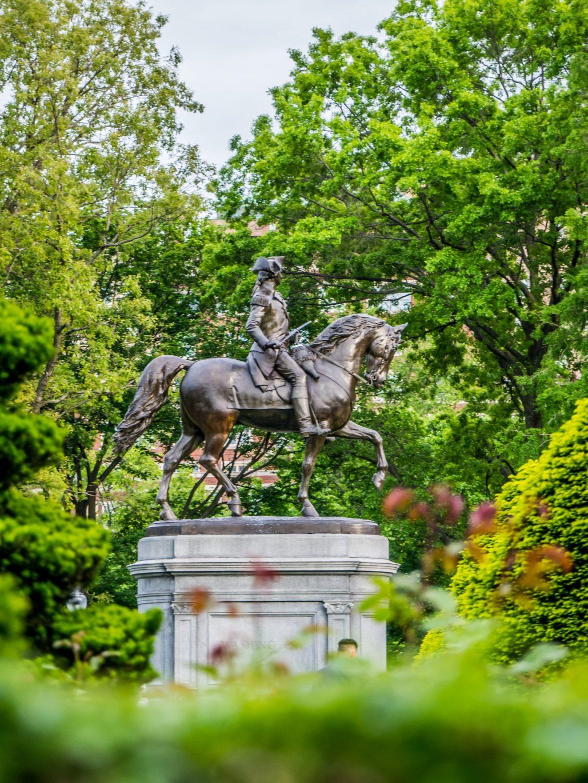 Pomnik Waszyngtona w Boston Garden