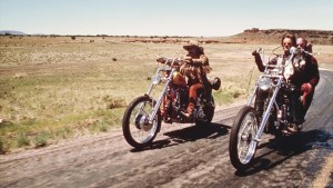 """Kadr z filmu """"Easy rider"""""""
