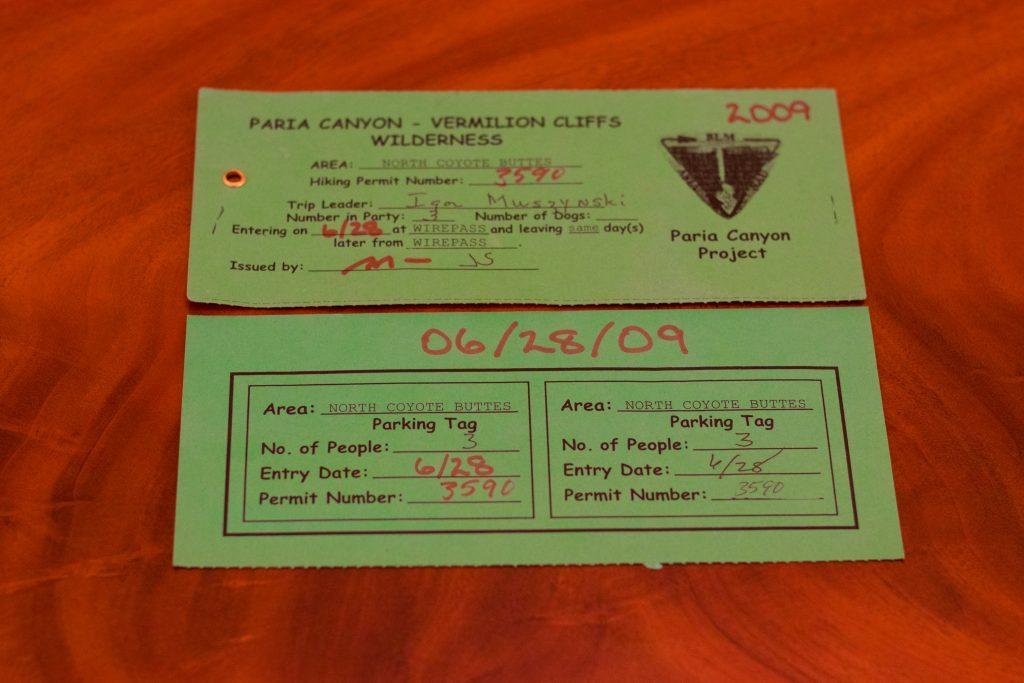 wylosowany permit ©AmerykaDlaPodróżnika