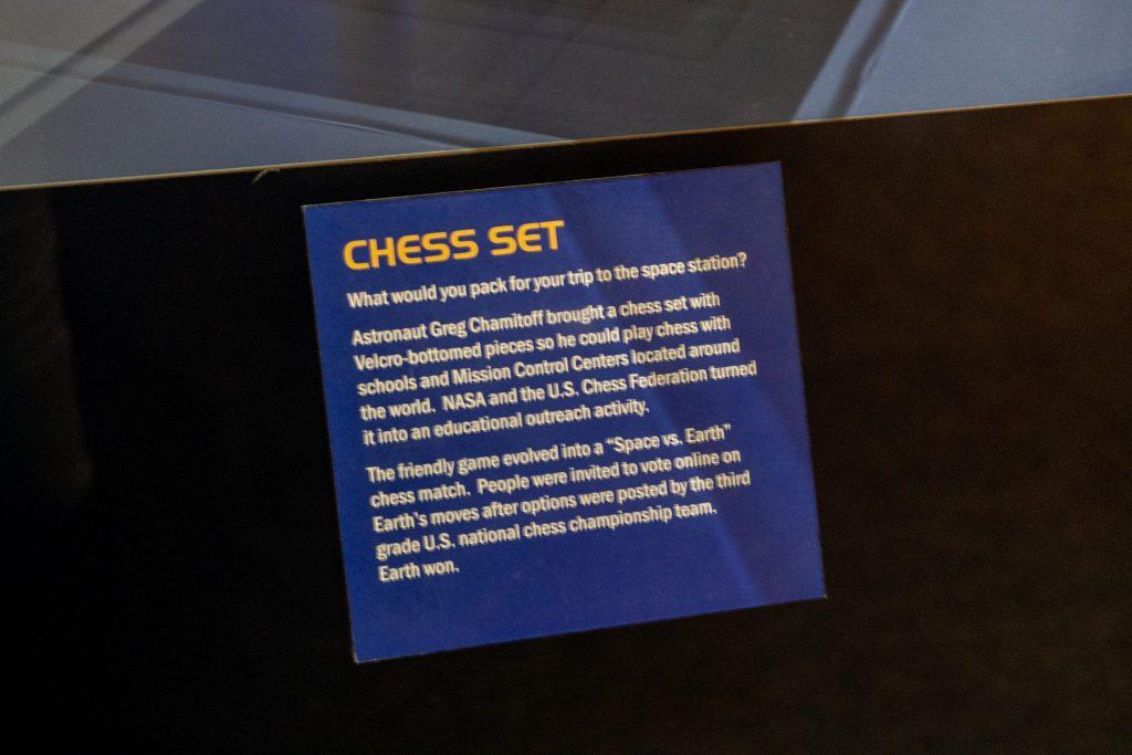 Dlaczego szachy poleciały w kosmos? Wyjaśnienie muzeum