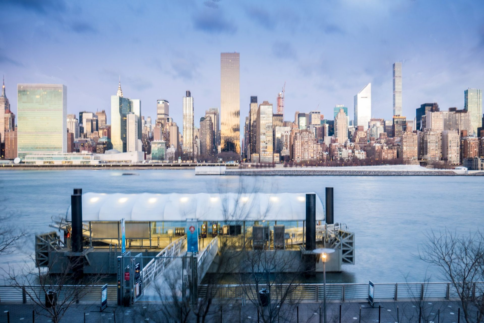 Manhattan, widok z Long Island City