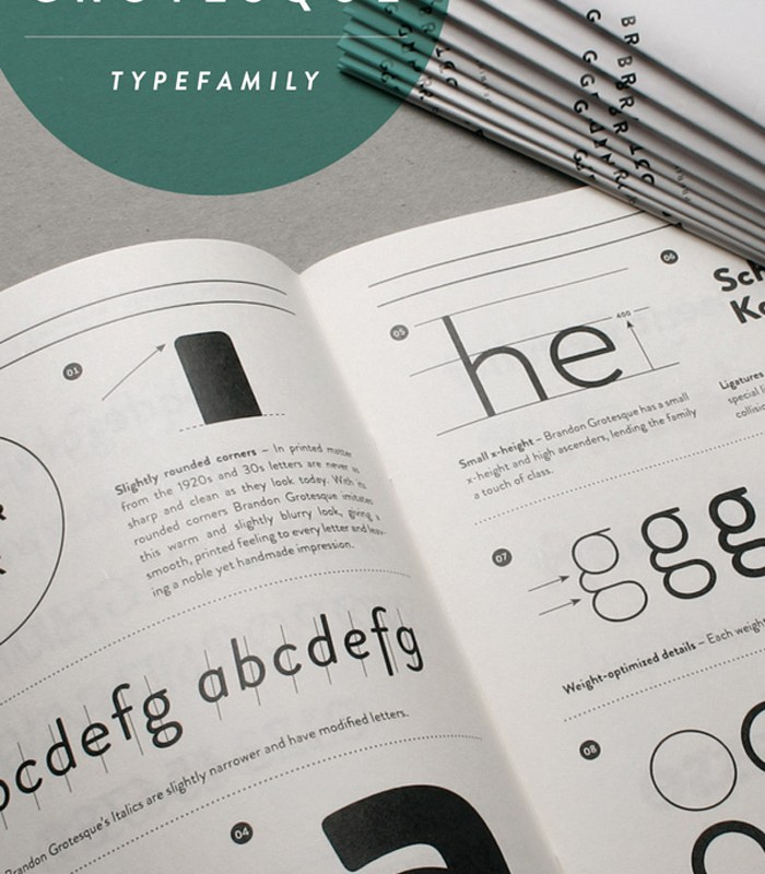 Brandon Grotesque Font [Friday Favorites]