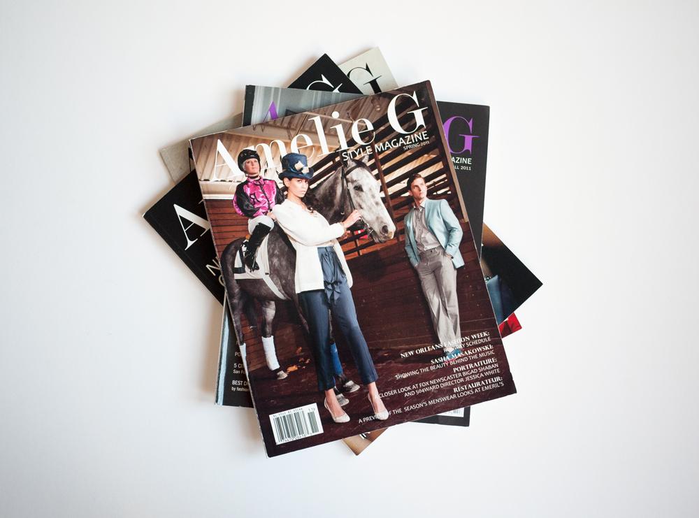 Amelie G Magazine Design 1