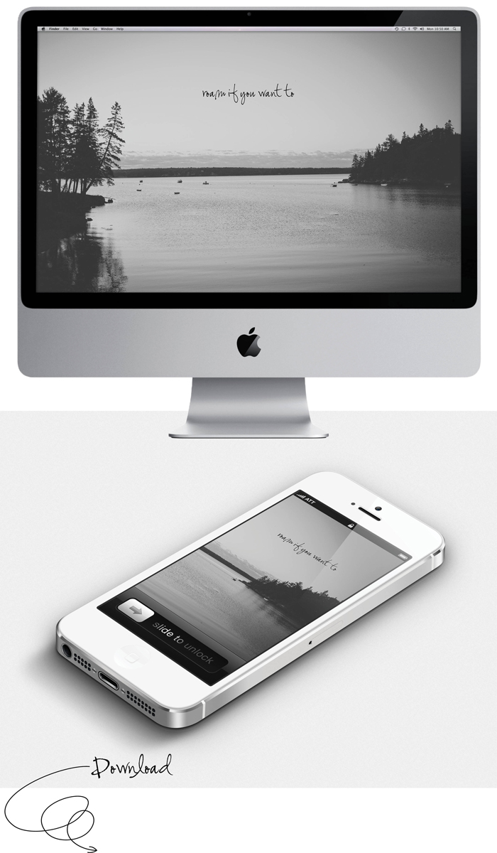 Ciera Design March Desktop Wallpaper