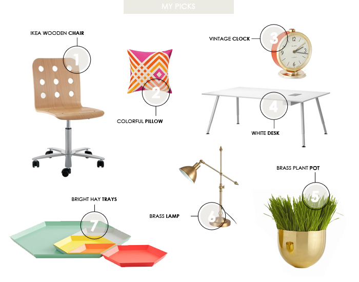 Summer Office Renovation Inspiration - Corina's Picks