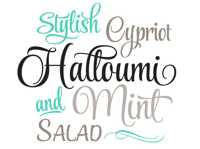Style Script Type Sample