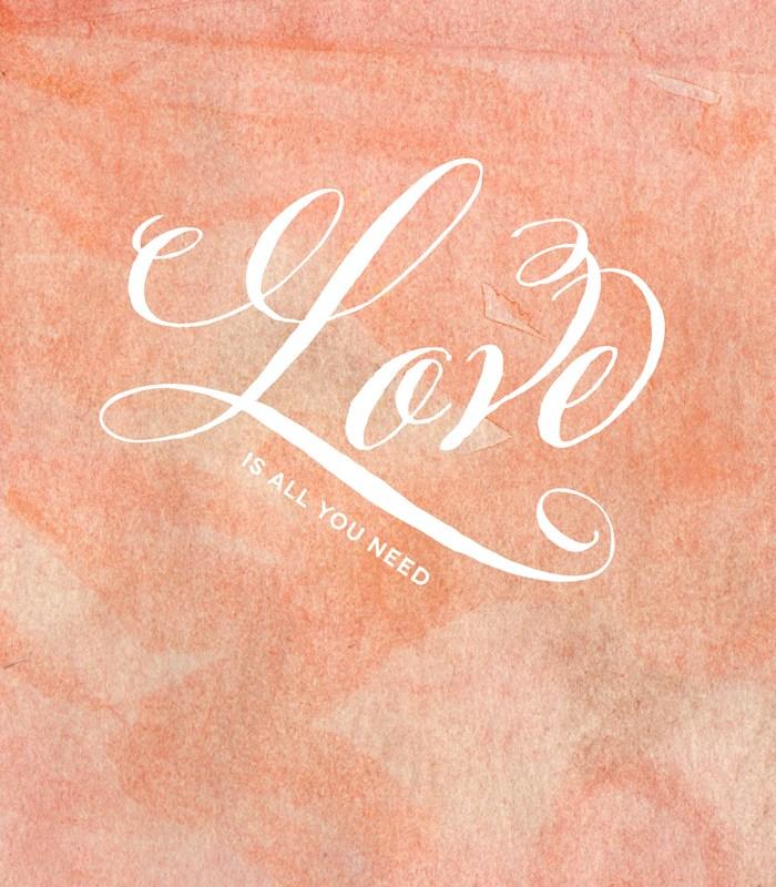 February Wallpaper Freebie + A Favorite Font Giveaway