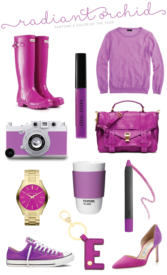 Pantone Color of the Year Radiant Orchid Roundup