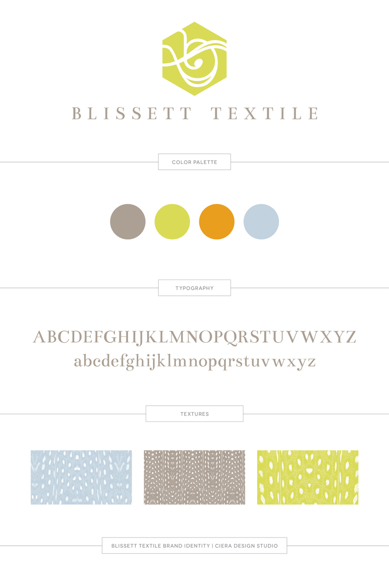Blissett-Textile-Logo-Brand-Identity-Design-Board